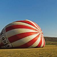Vyhlídkové lety balónem - Karlštejnsko