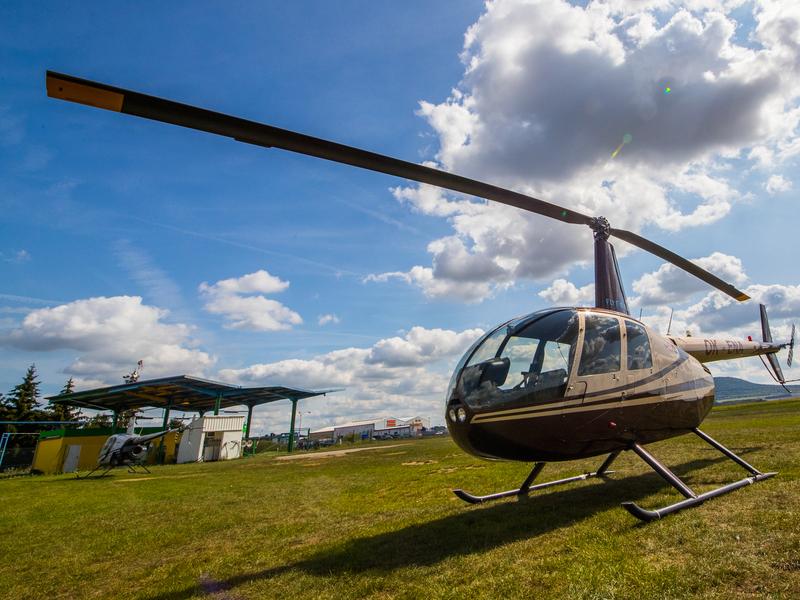 Lety vrtulníkem Praha