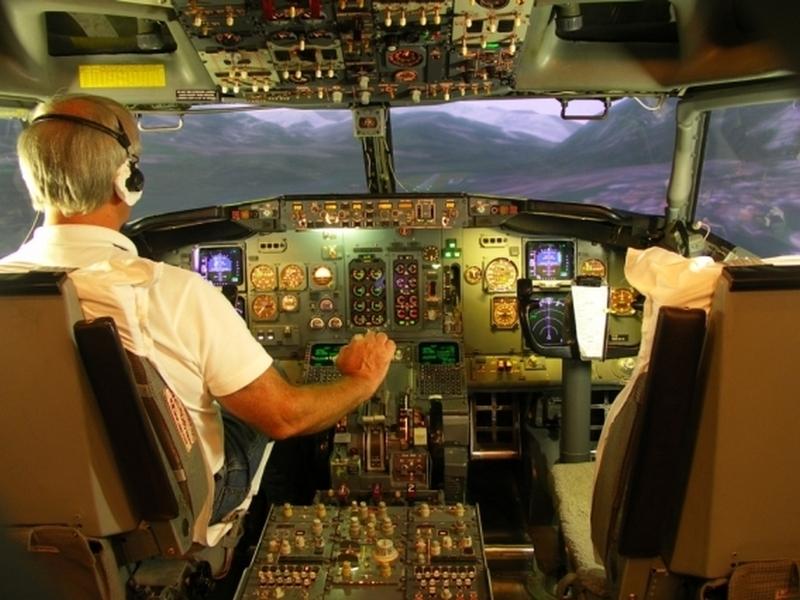 Profesionální letový simulátor Praha