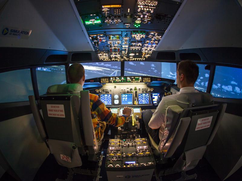 Letecký trenažér Boeing 737 Praha