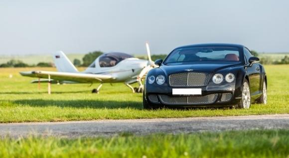 Jazda na Bentley Continental GT