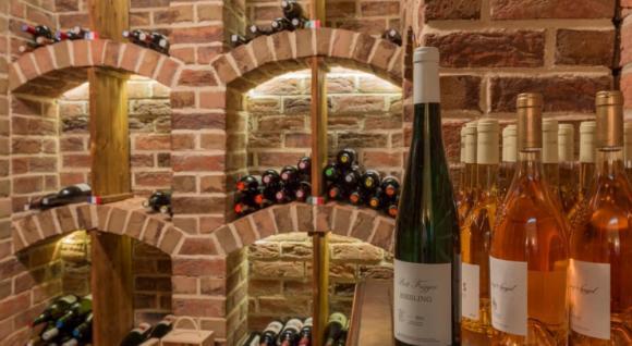 Degustácia vín v kaštieli