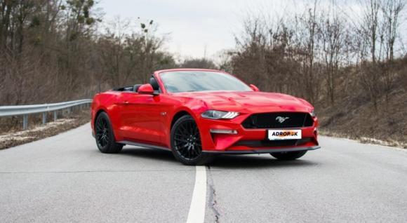 Jazda na Mustang GT Cabrio