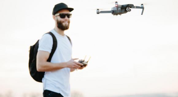 Kurz lietania s dronom