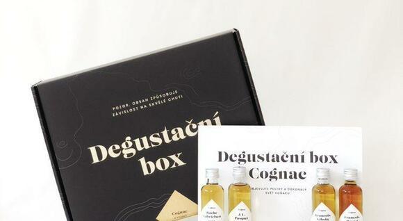 Degustačný box Cognac: 5 vzoriek