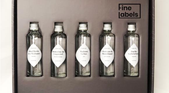 Degustačný box Gin: 5 vzoriek