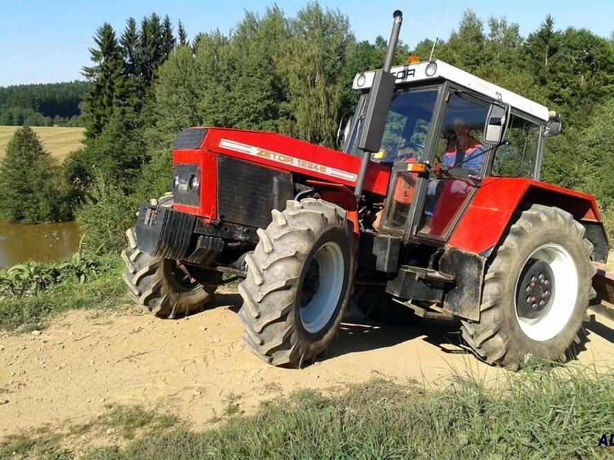Jízda traktorem Vysočina