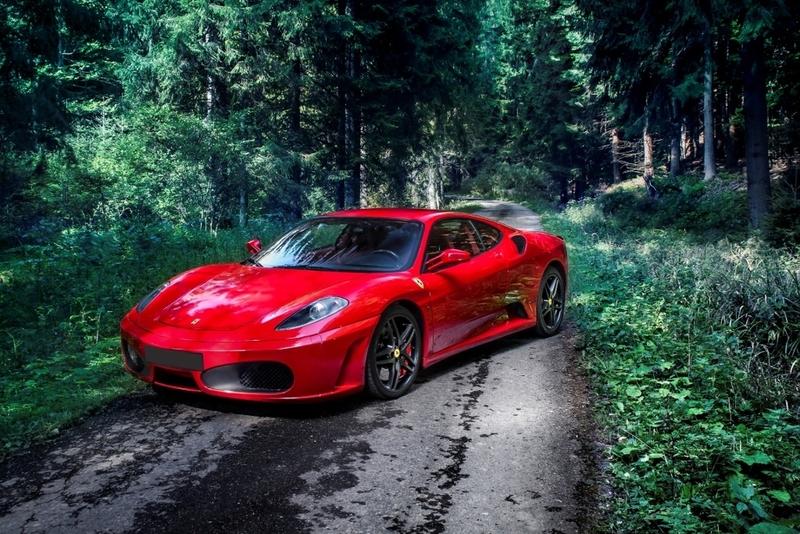 Jízda ve Ferrari F430