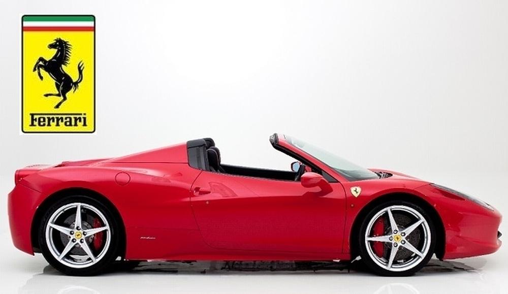 Pronájem Ferrari 458 Spider Praha