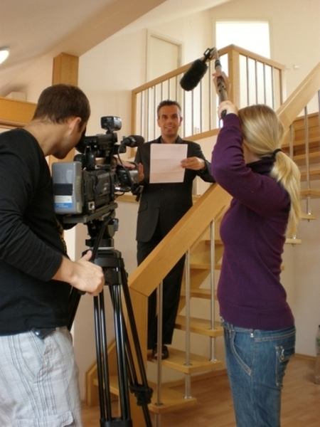 Staňte se televizním reportérem či moderátorem Praha