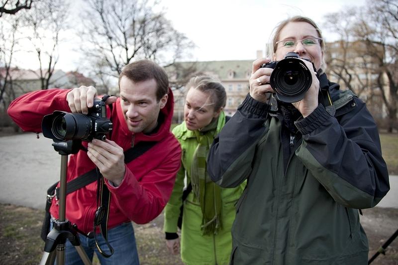 Víkendový kurz - základy fotografie Praha