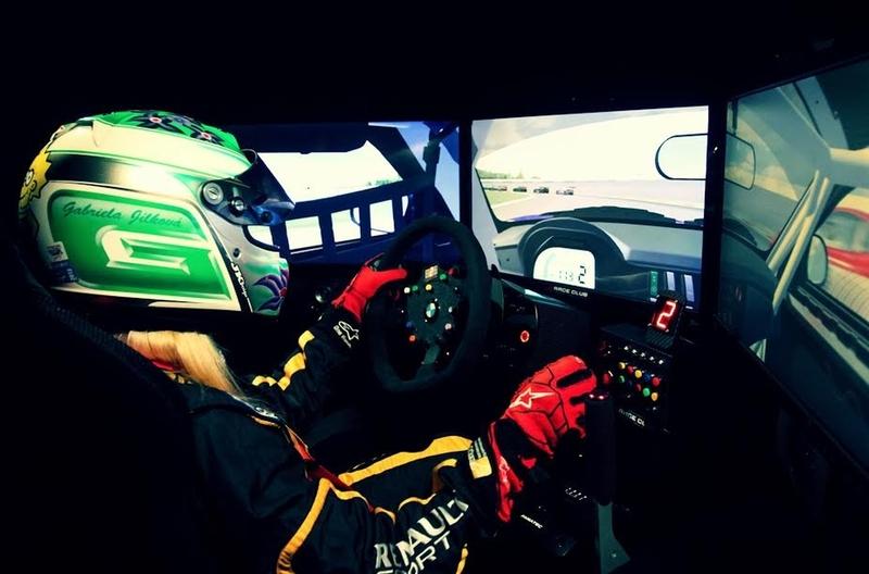 Závodní simulátor WRC a Formule 1