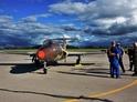 Let stíhačkou L-29