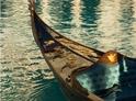 Gondola na vodě