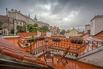 Výhled z terasy restaurace na Pražský hrad