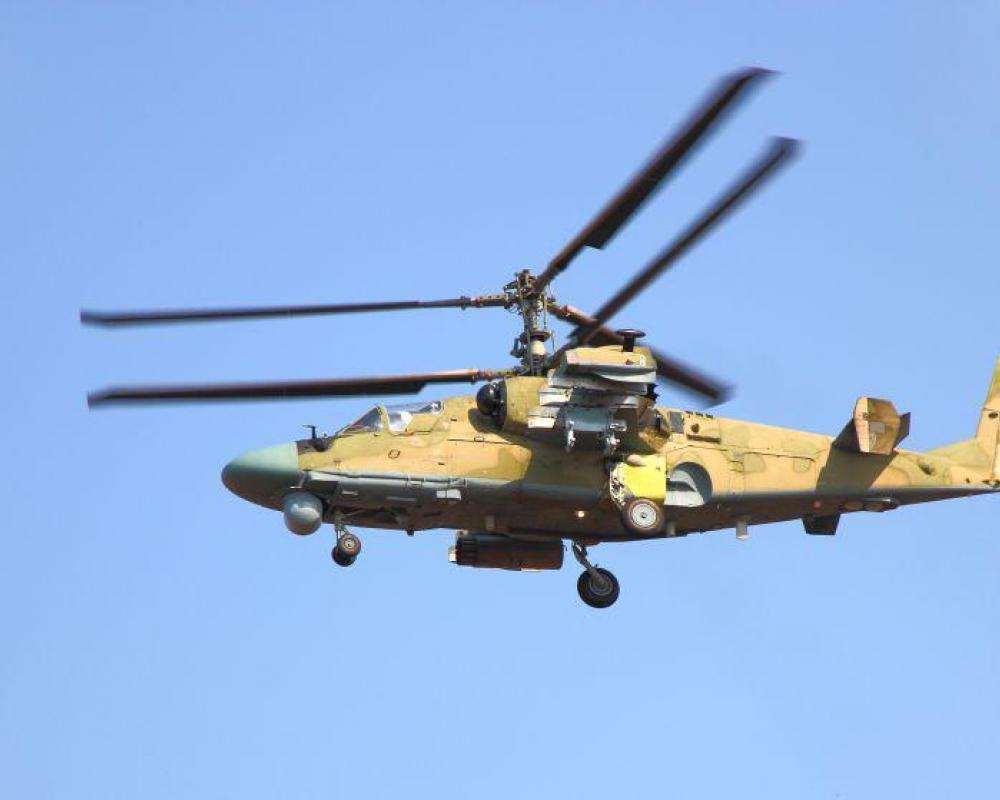 Simulátor vrtulníku Kamov Ka-50