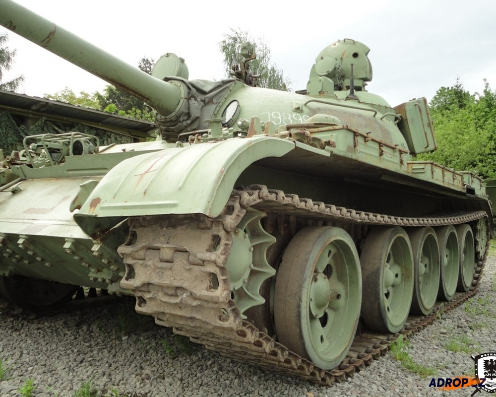 Jízda v obrněném tanku T-55
